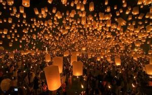 тайландский праздник фонарей