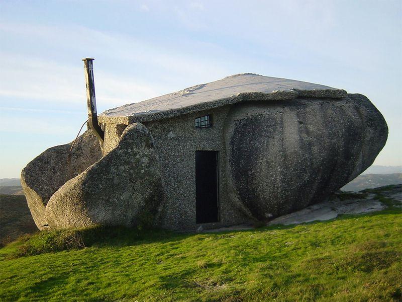 Дом-камень, Португалия