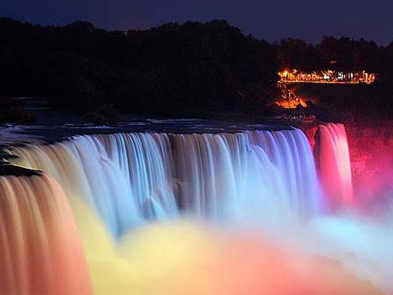 фото - 12. Ниагарский водопад ночью