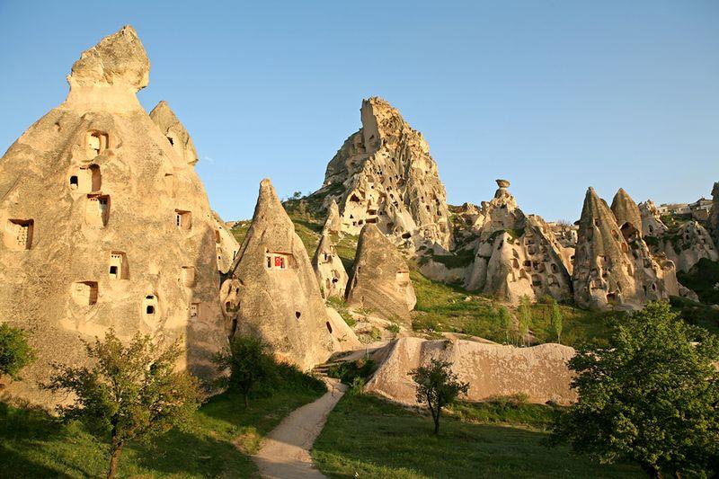 Пещеры Каппадокии, Турция