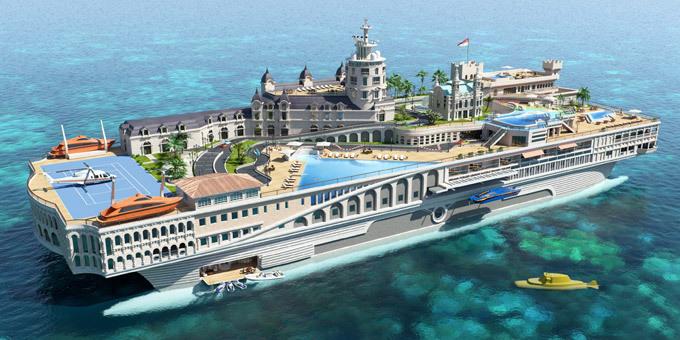 Монако на яхте