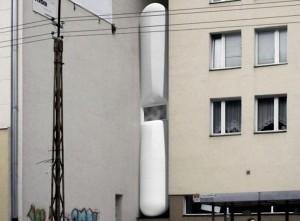 cамый узкий в мире дом