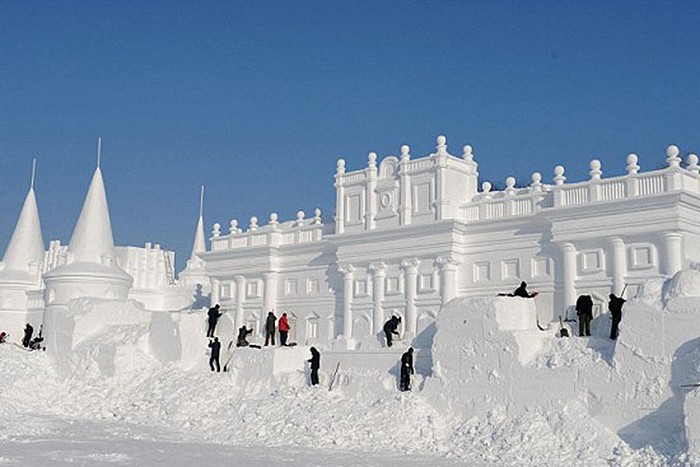Фестиваль снега