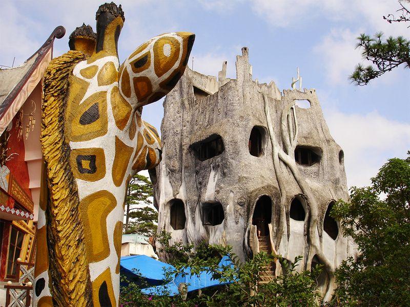 CrazyHouse, Далат, Вьетнам