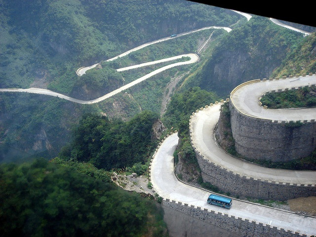 фото со всего мира - Дорога в небеса в Китае