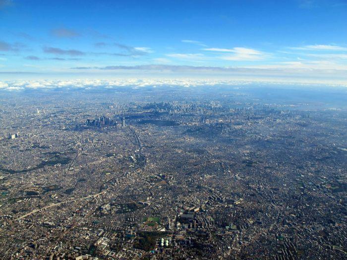 Токио – город с населением в 38 миллионов человек