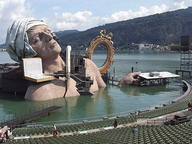 Брегенцский фестиваль в Австрии