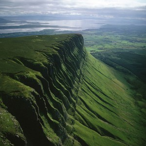 Ben Bulben at County Sligo, Ирландия