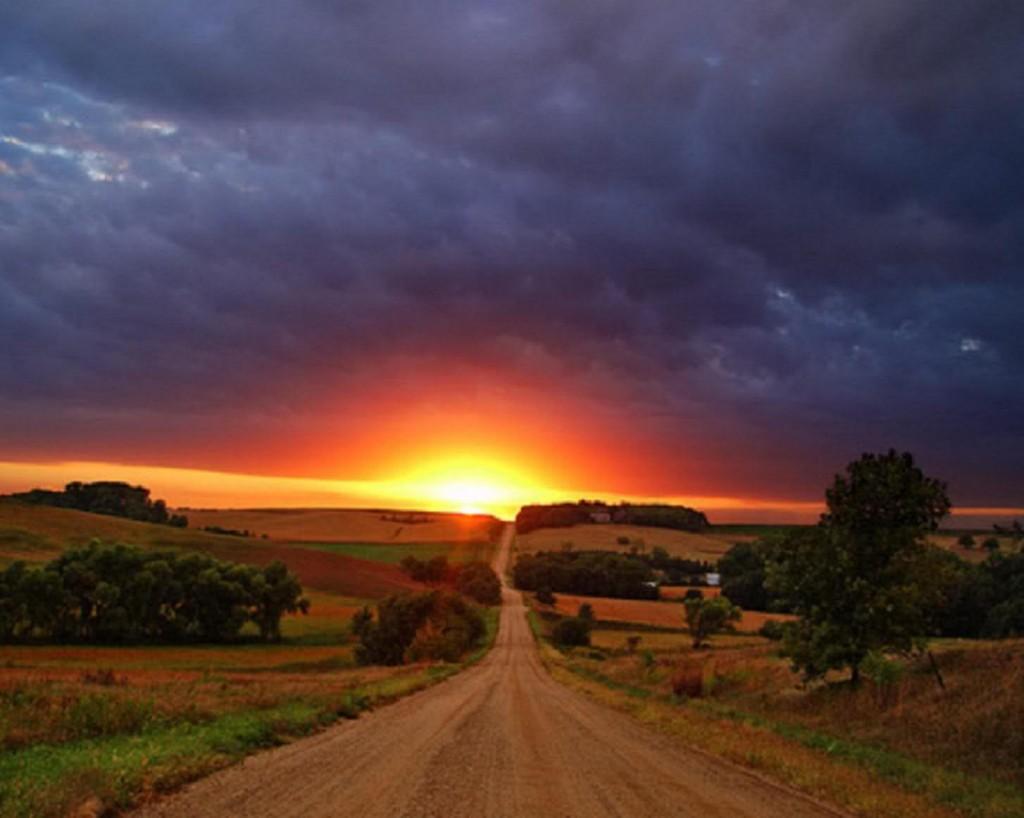 Cолнечный закат
