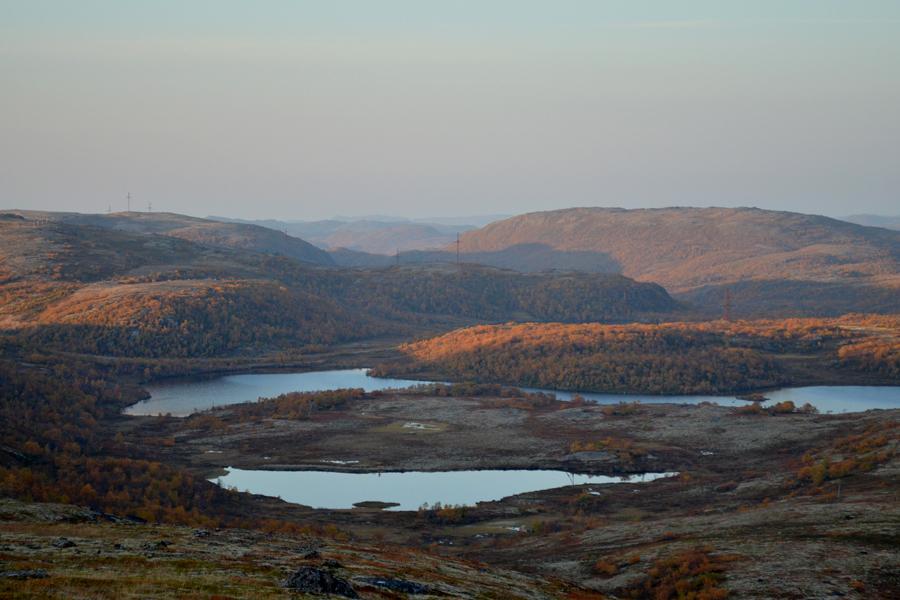 Осень в сопках, Кольский полуостров