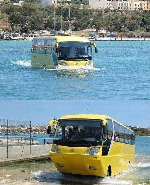 Плавающий автобус