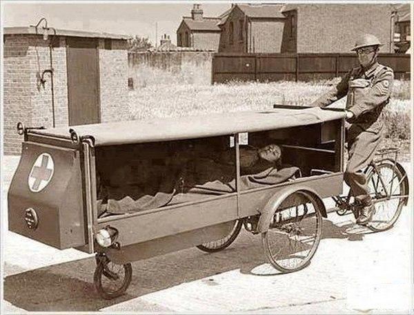 Первая в мире служба скорой помощи