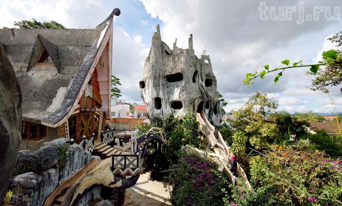 Вьетнамский отель «Сумасшедший дом»