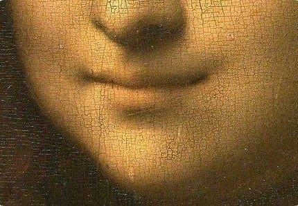 губы Моны Лизы