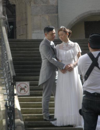 японская свадьба в крумлове