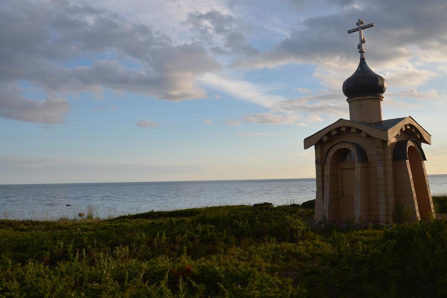 Часовня преподобного безымянного инока Терского, Белое море