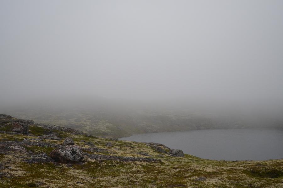 Таинственное озеро полуострова Средний