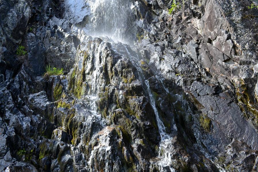 Водопад, Кольский полуостров