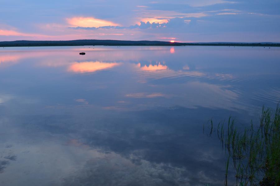Закат на оз.Кеткъявр