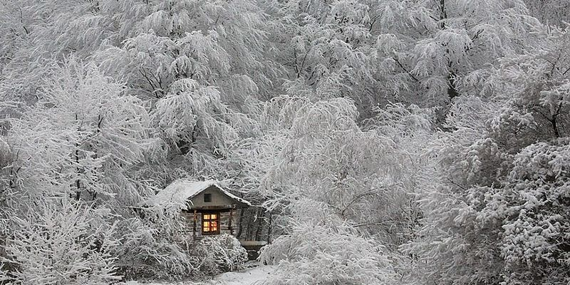129 Маленькие одинокие дома одиноких людей