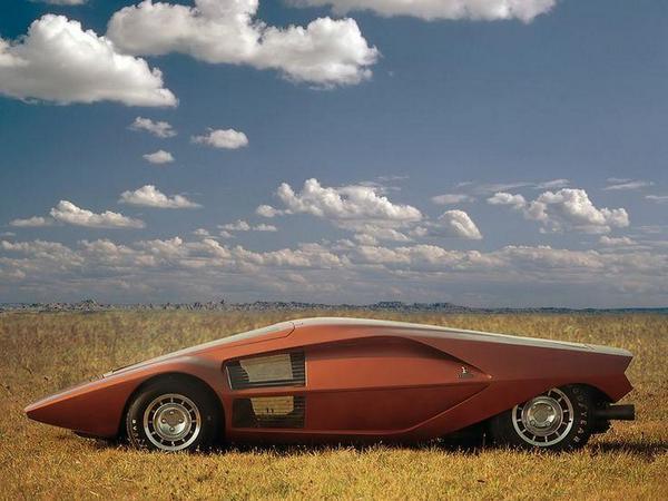 Lancia Stratos Zero. Италия. 1970 г.