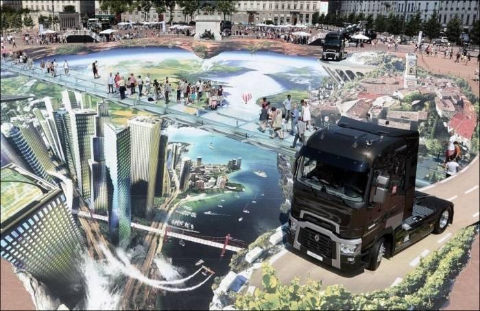 Самый большой в мире стрит-арт