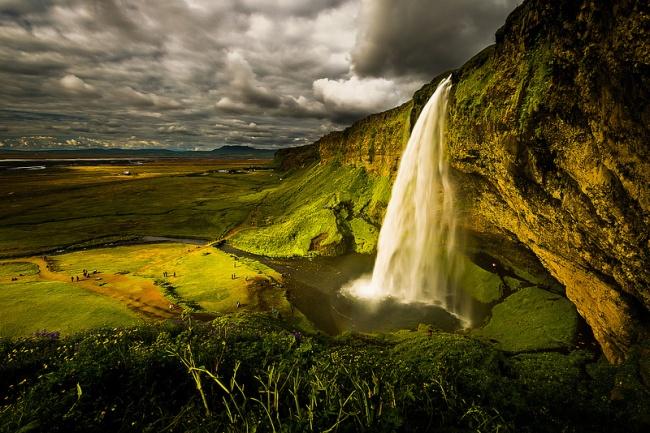 Селйяландсфосс, Исландия