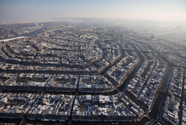 Амстердам с высоты