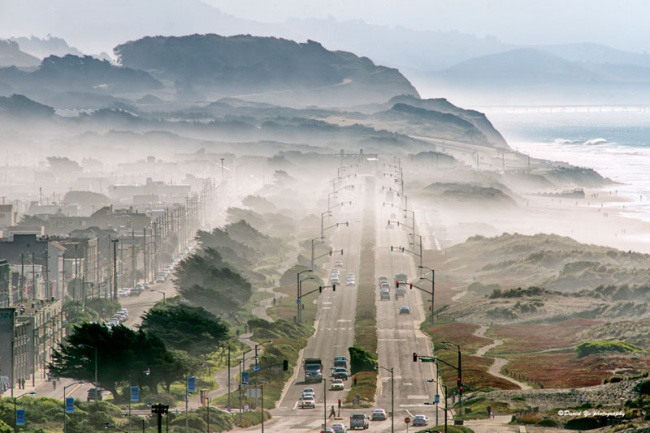 205 Туман в Сан-Франциско