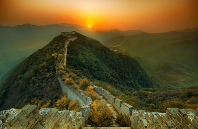 240 Природа и Великая Китайская стена