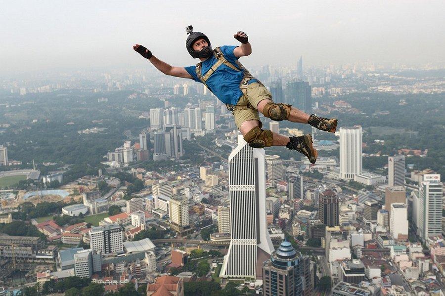 фото прыжок