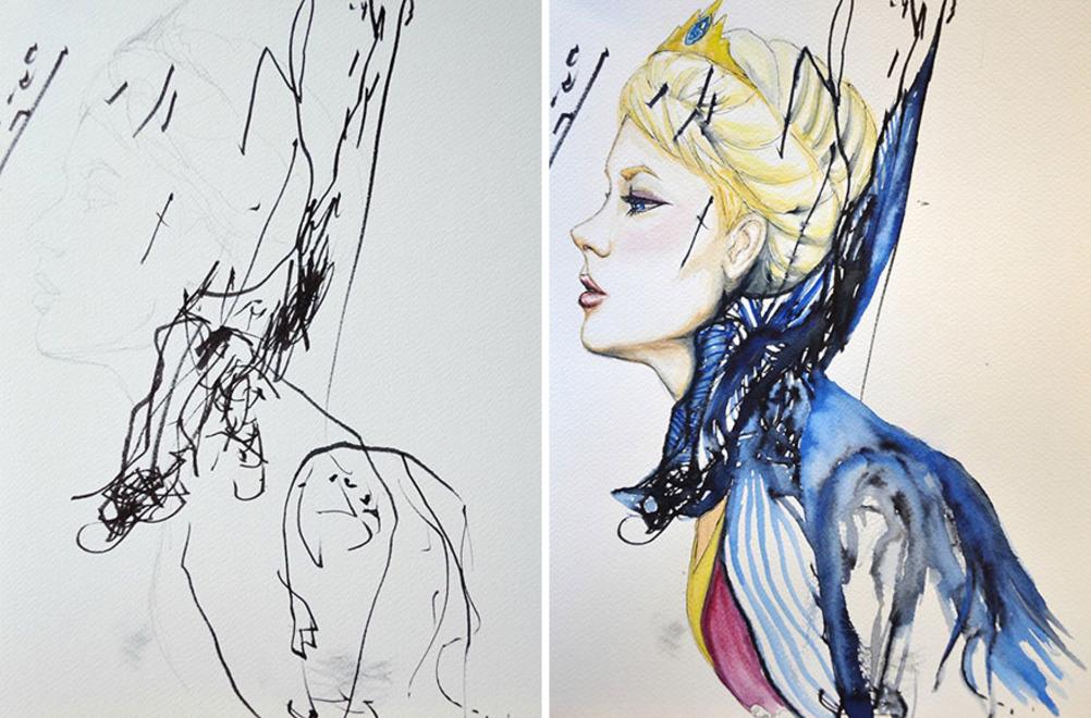 фото рисует рут остерман